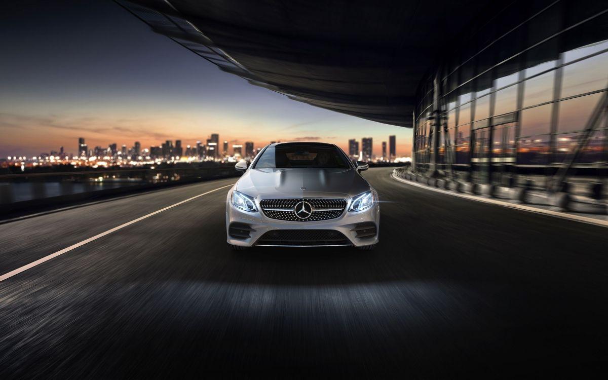 政变, 中等尺寸的汽车, 2018年梅赛德斯-奔驰E级双门轿车, 性能车, 个人的豪华轿车 壁纸 2560x1600 允许